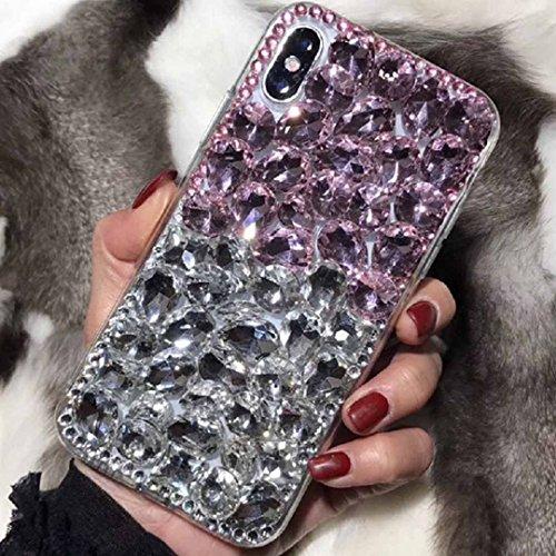 TAITOU - Carcasa para Samsung Galaxy S5, diseño de diamantes