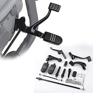 TCT-MT Forward Control Footpeg Bracket For Harley Sportster 883 1200 Forty Eight 2014-2019 1200 Custom (XL1200C) Super Low (XL1200T) 883 Iron (XL883N) Seventy Two (XL1200V)
