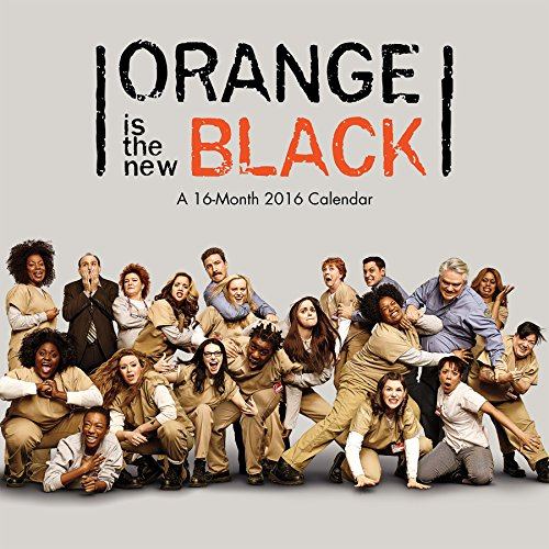 Orange is the New Black 2016 Wall Calendar