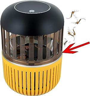 Mata Mosquitos Moscas electrico, Silencioso, Ahorro de energía, Duradero////Repelente Ultrasónico de Plagas lampara antimosquitos Raqueta Matamoscas Electrico Mosquitos