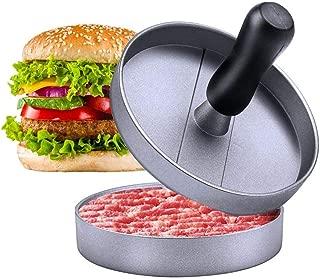 ヴカヨ(Vukayo)ハンバーガープレス DIY 肉プレス 調理器具 キッチン用品 ハンバーガーメーカー ミートプレス 新型金属製 HBY-02