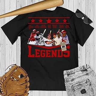 Cincinnati Baseball Legends Name Reds Jersey T-Shirt Customized Handmade Hoodie/Sweater/Long Sleeve/Tank Top/Premium T-shirt