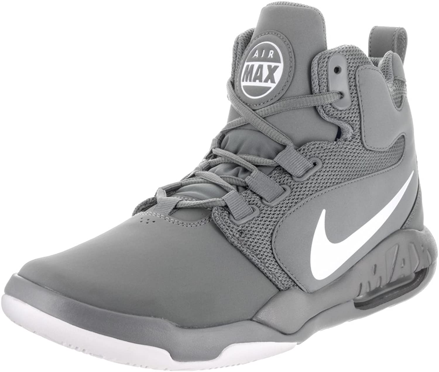 Nike Mens Air Conversion Cool Grey White Basketball shoes 10.5 Men US