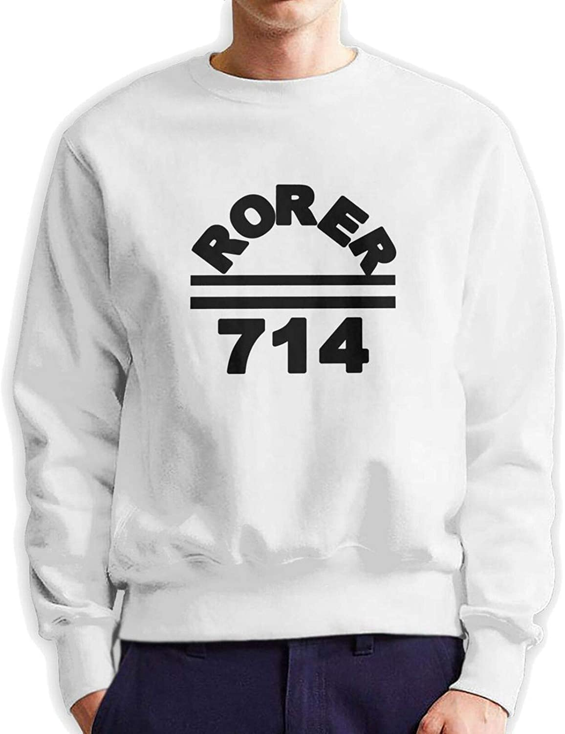 Rorer 714 Man'S Austin Mall Crew Neck Authentic Limited time cheap sale Hoodie Cotton Sweater Hooded