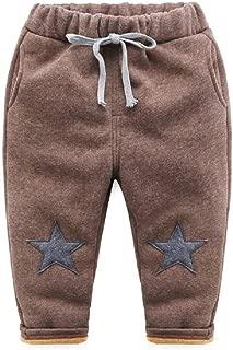 Mud Kingdom Little Boys Super Warm Star Fleece Pants