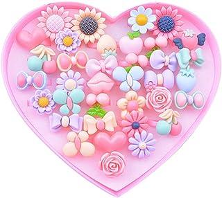 TOYANDONA 36Pcs Anelli di Cartone Animato Giocattolo Bambina Anelli di Plastica Colorati Fingono Anelli di Gioielli per Ba...