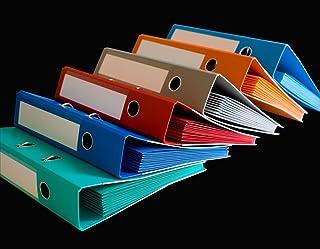 Classeur avec 12 Smartfolder Assortis - Pochette de Rangement - format A4