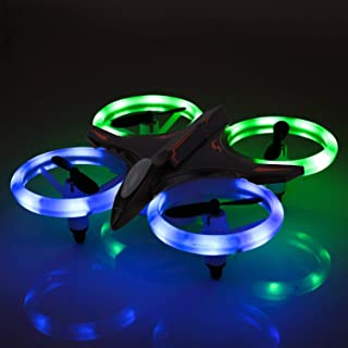 RC Drone, Mini Drone for Kids and Beginners, Mini Drones Quadcopter with LED Lights, Altitude Hold Height Headless 4CH 2.4...