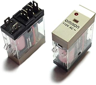 G2R-1-SN DC110(S) | 220785 | OMRON Relay, Plug-in, 5-PIN, SPDT, 10 A, MECH & LED Indicators, Label Facility