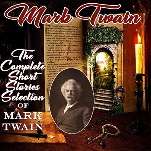 『The Complete Short Stories of Mark Twain』のカバーアート