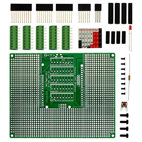 Prototype DIY PCB Bloque de terminales Kit para Arduino UNO R3