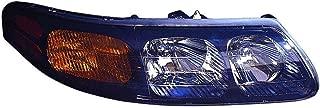 Fits Pontiac Bonneville 9/2/03-2005 Headlight Assembly(NON-GXP Model) Passenger Side (CAPA Certified) GM2503259C