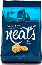 Neat s Rice Crackers Super Crunchy Healthy Snacks -Gluten Dairy Free All Natural-Sea Salt Box of 10 Bags x 50g Estimated Price : £ 19,79