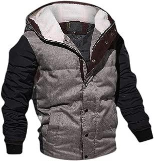 ShuangRun Mens Windbreaker Jacket Cotton Military Jackets Casual Outdoor Coat
