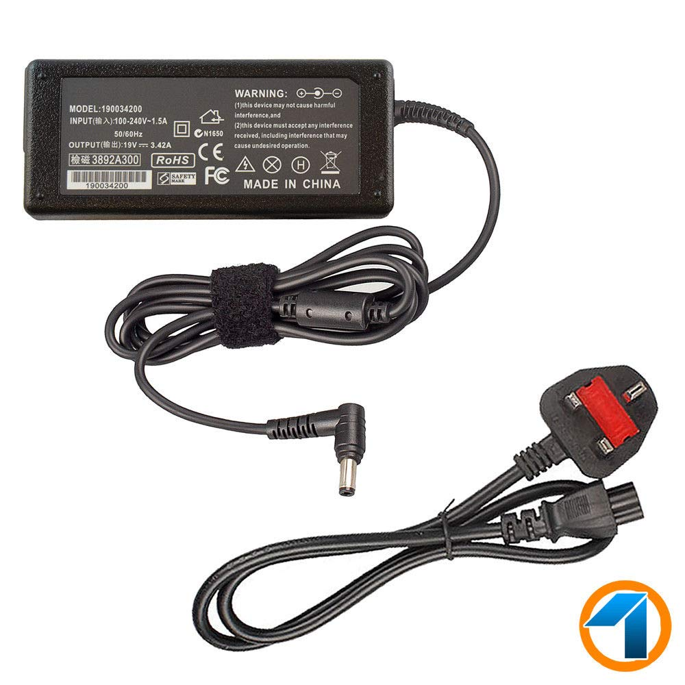 65W Laptop AC Adapter Power Charger PSU