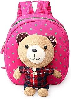 Unisex Pupils Cartoon Students Schoolbag Backpack
