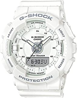 Unisex Watch White Resin G-Shock S Series GMAS130-7A