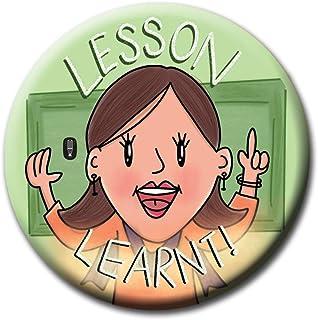 Salt 'n' Light Thank You Teachers Lesson Learnt Lady Teacher Fridge Magnet