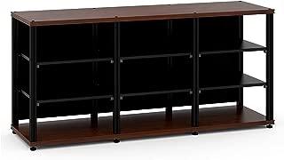 Salamander Synergy Triple 30 - Core Module (Walnut/Black) Triple AV Cabinet
