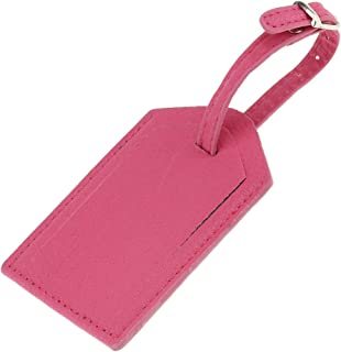 Baoblaze 1 Piece PU Leather Luggage Tag Travel Suitcase ID Label Security Tag - Other