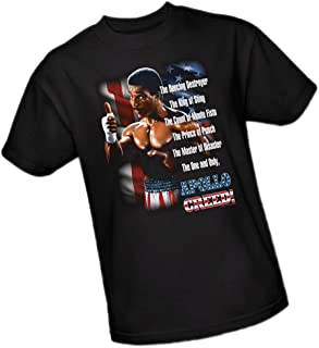 apollo creed t shirt
