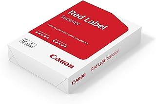 Canon Red Label Superior 99822064 Lot de 500 feuilles de papier perforé FSC A5 80 g/m² pour photocopieur/laser/jet d'encre...