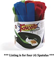 Norpro My Favorite Spatula Assorted Colors Nylon Nonstick 11