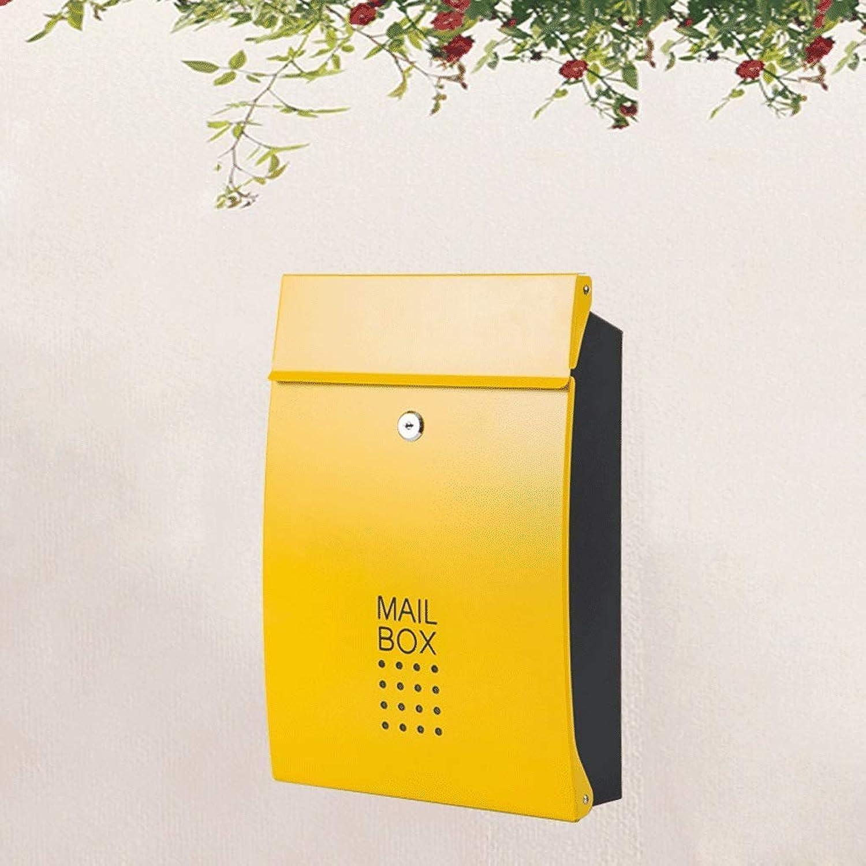 a639f58934d1 CAI-Mailbox Outdoor Wall-Mounted Villa Outdoor Waterproof Home ...