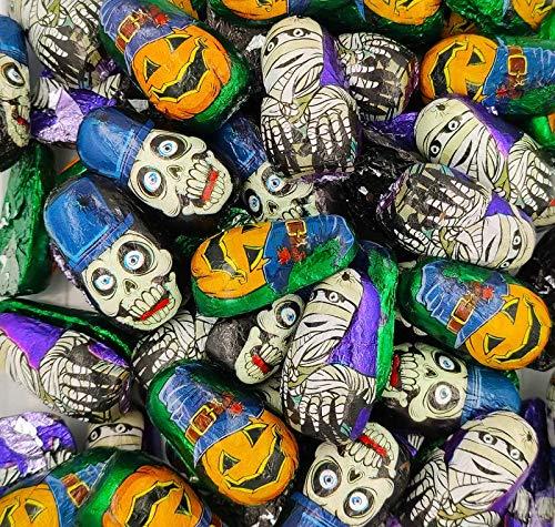 Halloween figuritas de chocolate con leche 500 gramos (Zombies)