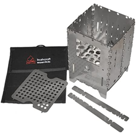 アウトドアクッカー BushBox/ブッシュボックス XL チタン製 コンビネーションキット