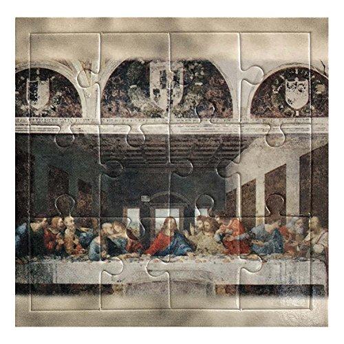 LibreriadelSanto.it Mini Puzzle Ultima Cena di Leonardo da Vinci - 12 Pezzi
