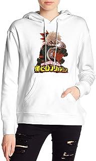 My Hero Academia Boku No Hero Deku Bakugou Katsuki Hoodies Sweatshirt Adult Pullovers for Women