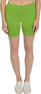 Bike Shorts for Girls and Women | Women's Athletic Workout Shorts | Cotton | SM-5XL