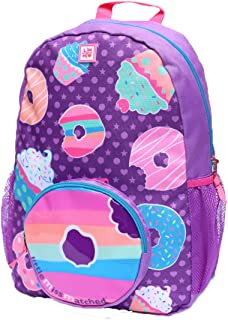Highwaypay Girls Boys Kids Durable Elementary Middle School Backpack Multi Compartment Side Mesh Water Bottle Pocket 3845
