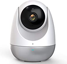 360 Dome PTZ Camera,1080P HD Pan/Tilt/Zoom Wireless Indoor Smart Home Camera IP Security Surveillance System with Night Vision, 2-Way Audio, Motion Alerts, Auto Patrol and Tracking