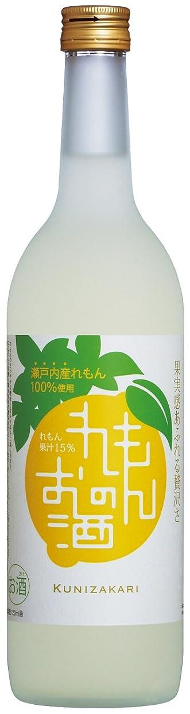 石化する恩赦ホーン中埜酒造 國盛(くにざかり) れもんのお酒 [ リキュール 720ml ]