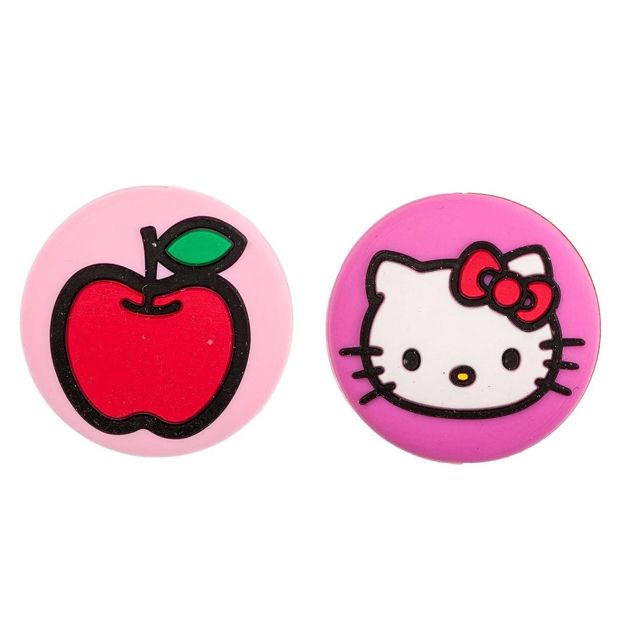 関税絶滅させる愛するハローキティ(Hello Kitty) スポーツ バイブレーション ダンペナー HK123 HK124 HK125 (キティ&アップル(HK123))