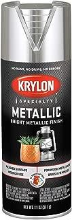 Krylon 1401 Bright Silver 11 Ounce Aerosol Metallic Paint