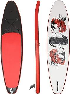 """Uppblåsbar Stand Up Paddle Board,SUP Surfboard Set,6""""tjock,kajak,för alla nivåer vuxna barn,med tillbehör luftpump,ryggsäc..."""