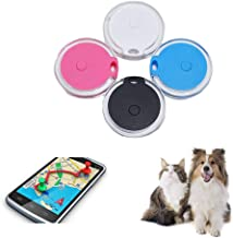 4 pcs GPS Tracker Locator, Bluetooth 4.0 Technology Extremely Low Power Consumption, for Kids Pet Dogs Cats Car Selfie Shu...