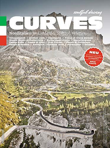CURVES Norditalien: Band 3: Lombardei, Südtirol, Venetien: Lombardy, South Tyrol, Veneto