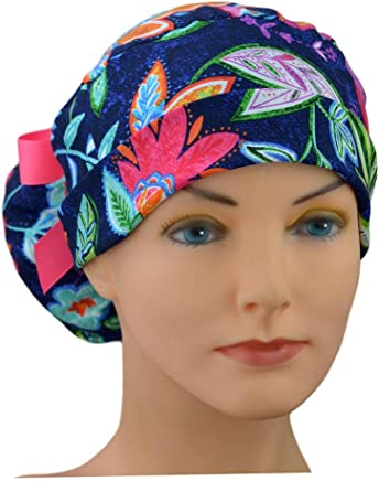 Womens Perfect Fit Ponytail Surgical Scrub Hat Cap - The Hat Cottage -  Caribbean f4afe9193858