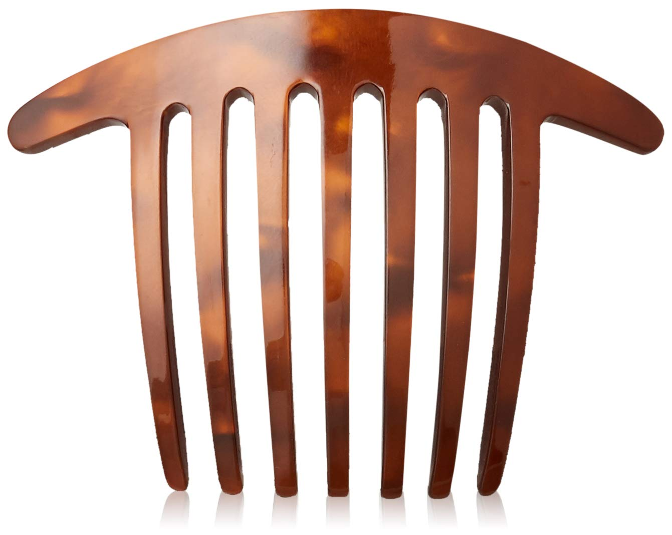 France Luxe Handmade French Twist Max 55% OFF Comb - Mocha Nacro Today's only