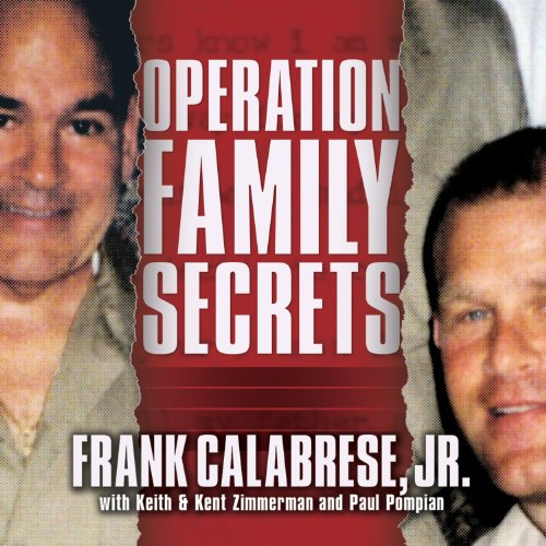 Operation Family Secrets audiobook cover art