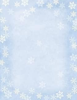Hortense B Hewitt 80-Pack Sheets Winter Flakes Decorative Paper