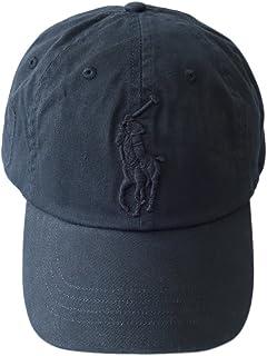 (ポロ ラルフローレン) POLO Ralph Lauren キャップ CAP 帽子 ハット メンズ レディース BIG PONY ビッグポニー ワンポイント ブラック×ブラック - [並行輸入品]