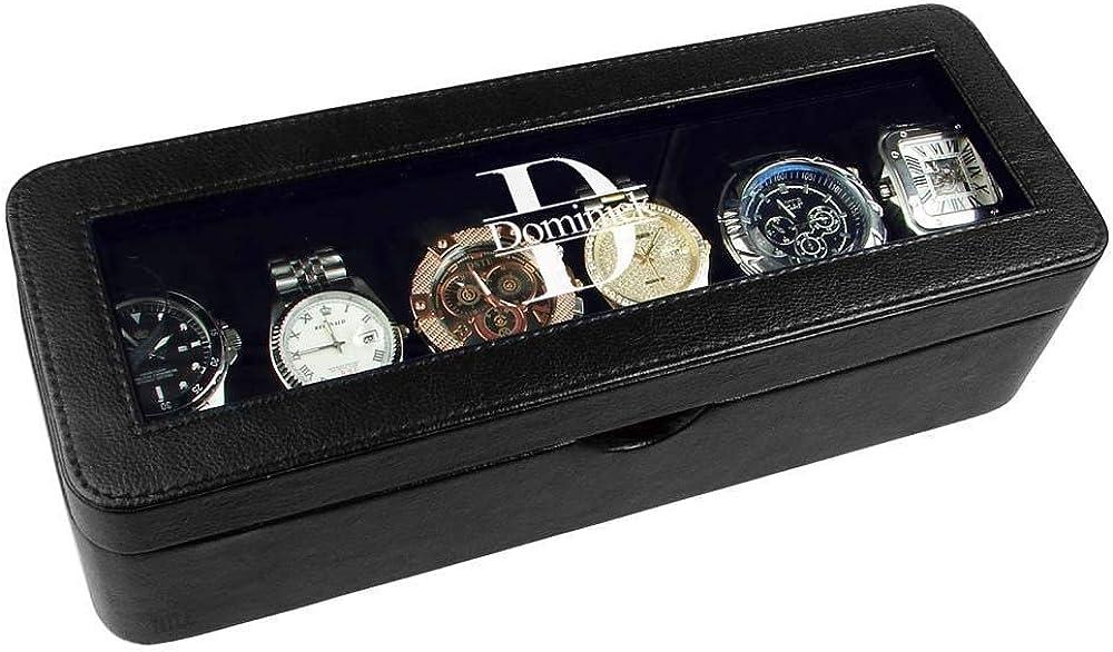 Ikee Design Personalized Watch store Storage Engraved Custom Sales Box Watc