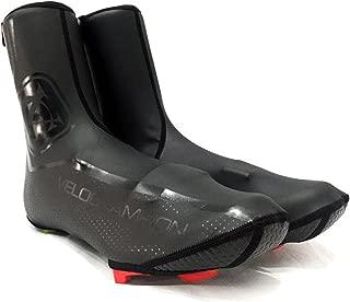 VeloChampion VC Comp Pro Cycling Biking Waterproof Overshoes Windproof Weatherproof Heavyduty Reflective Protection Covers Neoprene