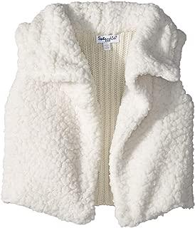 Baby Girls Faux Sherpa Vest