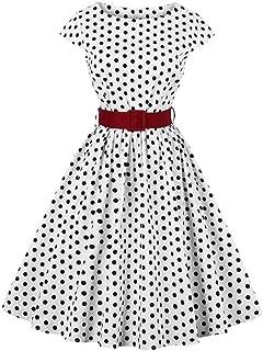 Best vintage bow waist bubble dress Reviews